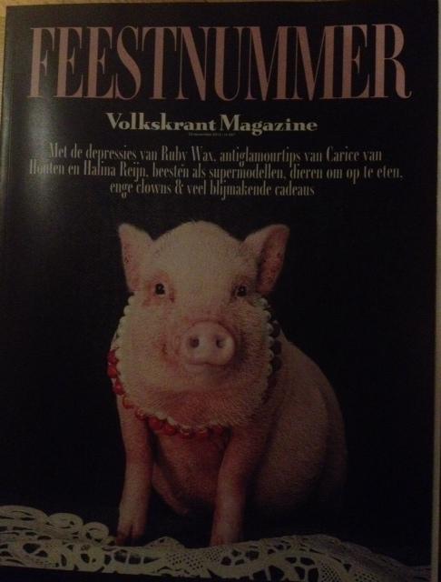 Feestnummer Volkskrant Magazine